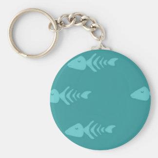 Zazzle-ct-Fischkissen Schlüsselanhänger