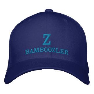 ZBAMBOOZLER - Flexfit Wollen gestickte blaue Kappe