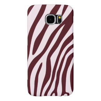 Zebra-Druck-Kasten, rot