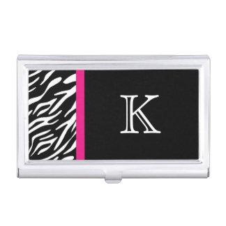 Zebra-Druck-kundenspezifischer Visitenkarten-Dose
