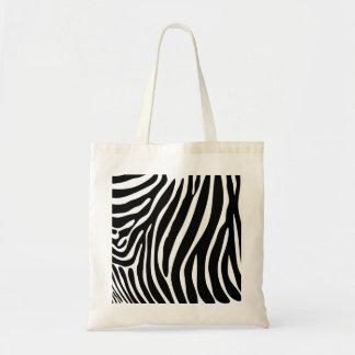 Zebra-Druck-Taschen-Tasche Tragetasche