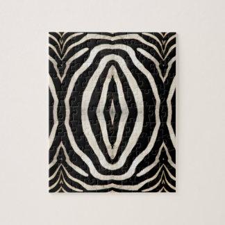 Zebra-Fell-Fotografie Puzzle