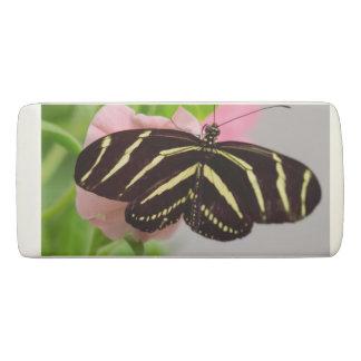 Zebra Longwing Schmetterling Radiergummi 1