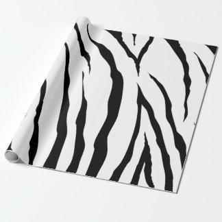"Zebra-Packpapier, 30"" x 6' Geschenkpapier"