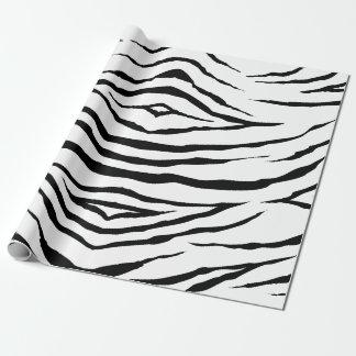 "Zebra-Packpapier, 30"" x 6' Geschenkpapierrolle"