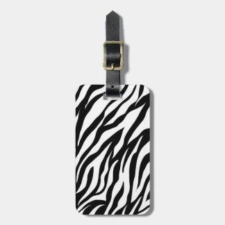 Zebra-Streifen Gepäckanhänger