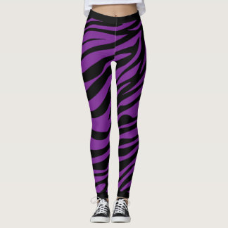 Zebra Stripes Muster Leggings