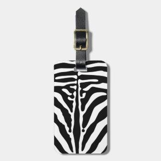 Zebradruck Gepäckanhänger