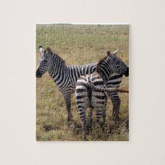 Zebras in Nairobi Kenia Puzzle