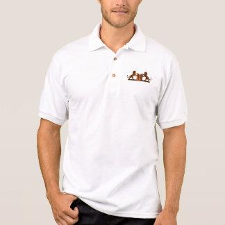 Zehn Gebote und Löwen Polo Shirt