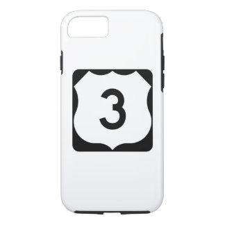 Zeichen US-Weg-3 iPhone 8/7 Hülle