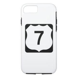 Zeichen US-Weg-7 iPhone 8/7 Hülle
