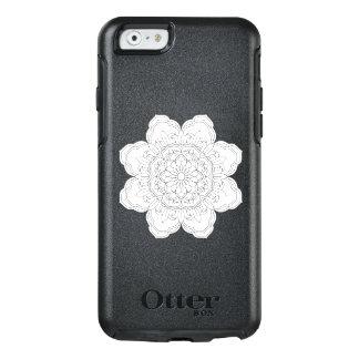 Zeichnen eines Blumenmandala im ethnischen OtterBox iPhone 6/6s Hülle