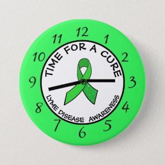 Zeit für ein Heilungs-Limone Runder Button 7,6 Cm
