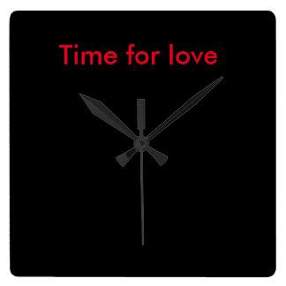 Zeit für Liebeuhr Wanduhren