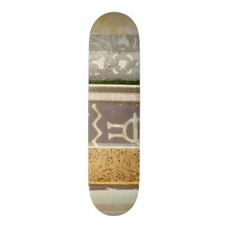 Zeitgenössische Stammes- Muster-Malerei Skateboard Brett