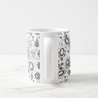 Zellulärer Entwurf Tasse