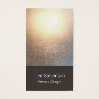 Zen-unbedeutendes einfaches visitenkarten
