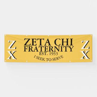 Zeta-Chi-Fahne Banner