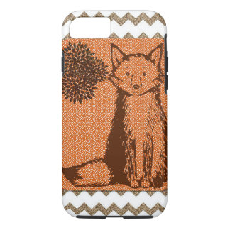 Zickzack Fox iPhone 8/7 Hülle