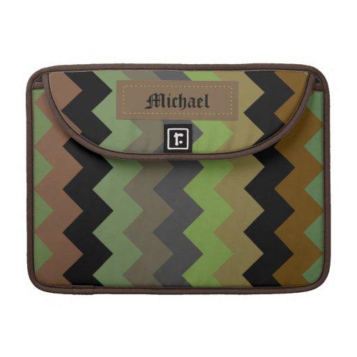 Zickzack gemusterte Macbook Prohülse Sleeves Für MacBook Pro