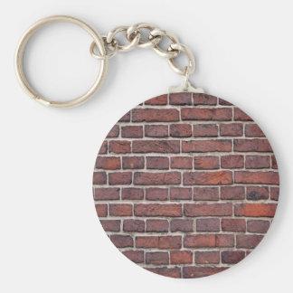 Ziegelstein Keychain Standard Runder Schlüsselanhänger
