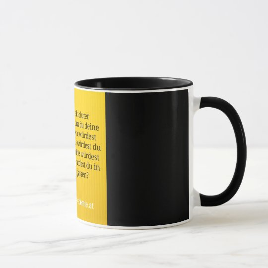Ziel & Garantie Tasse