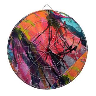 Ziel Spiel der Speere künstlerisches Weben Dartscheibe