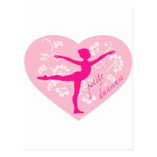 Zierlicher Danseuse Postkarte