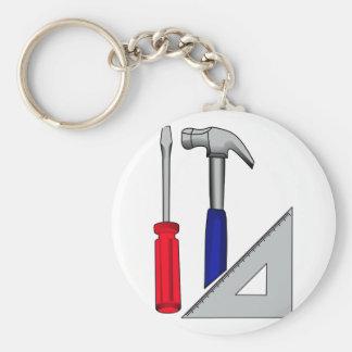 Zimmereilogo Schlüsselanhänger