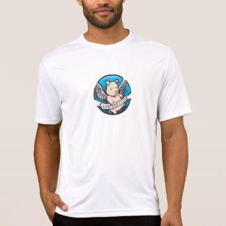 Zinnart.com, das Schwein-Logo fliegt T-Shirt