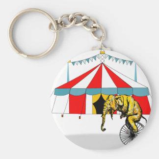 Zirkus-Erinnerungsstücke zum Gedenken an Schlüsselanhänger