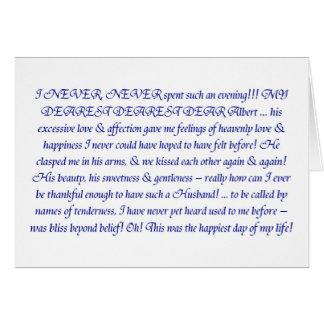 Zitat der Königin-Victoria Karte