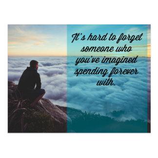 Zitat stark vergessen postkarten