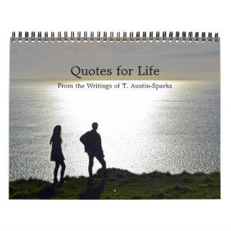 Zitate für Leben-Kalender-Wahl C Abreißkalender