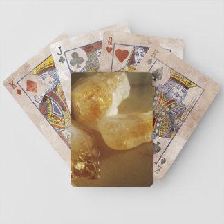 Zitrinedelstein-Foto Spielkarten