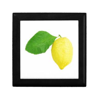 Zitrone Erinnerungskiste
