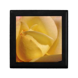 Zitrone farbige Rose Geschenkbox