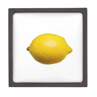 Zitrone Schachtel