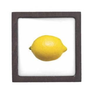 Zitrone Schmuckkiste