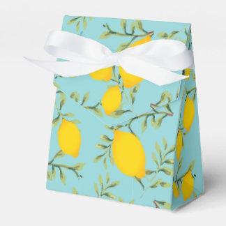Zitronen-Baum-Gastgeschenk-Kasten Geschenkschachtel
