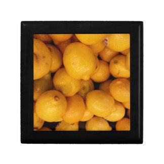 Zitronen Erinnerungskiste
