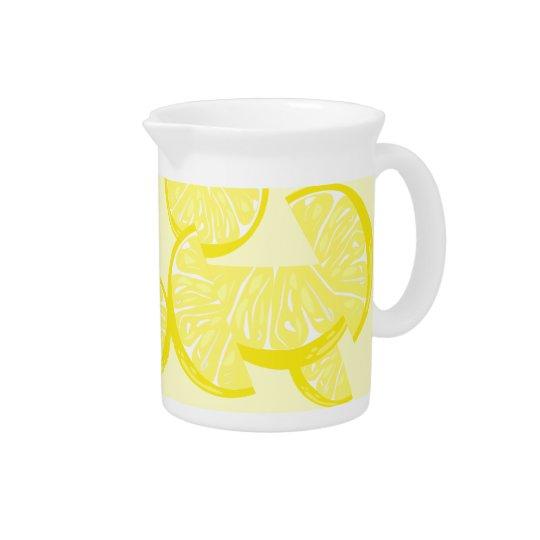Zitronen-Scheibe-Krug Krug