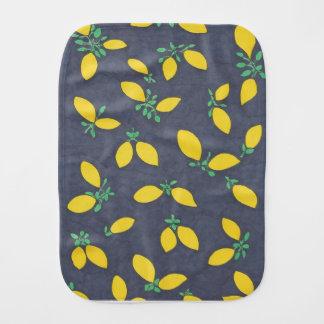Zitronendrops-Nahrungsmittelkunst-Muster Baby Spucktuch