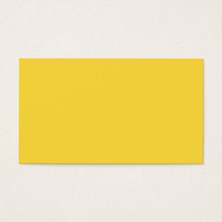 Zitronezest-Gelb-Trend-Farbe kundengebundene Visitenkarte