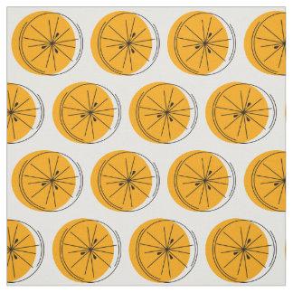 Zitrusfrucht-Orangengewebe Stoff