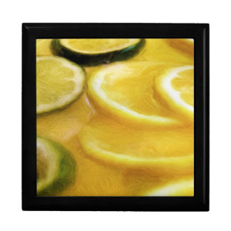 Zitrusfrucht-Scheiben Geschenkbox