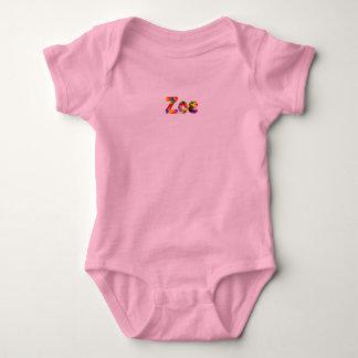 Zoe-Baby-Jersey-Bodysuit Baby Strampler
