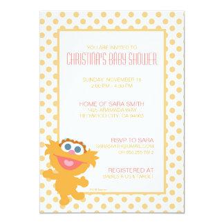 Zoe-Babyparty laden ein 12,7 X 17,8 Cm Einladungskarte