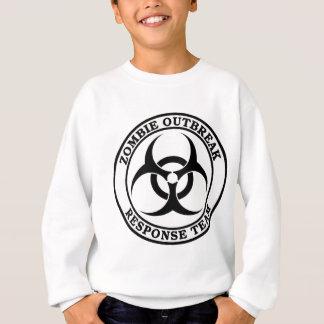 Zombie-Ausbruch-Warteteam (Biogefährdung) Sweatshirt